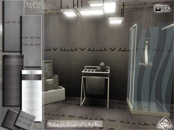 Contemporary Bathroom Walls and Tiles by Devirose