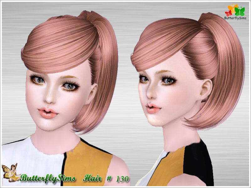 Hairstyle130 by ButterflySims