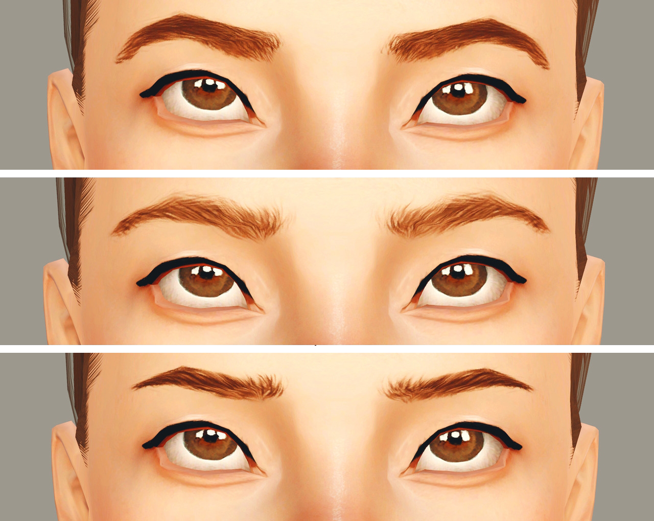 Eyebrows Set 2 by Wundersims
