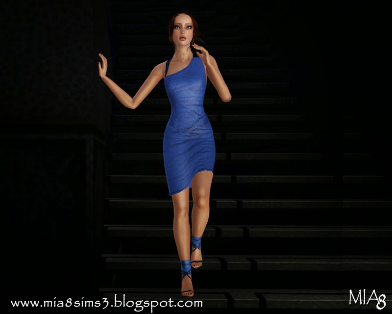 8 poses on the stairs by Mia8