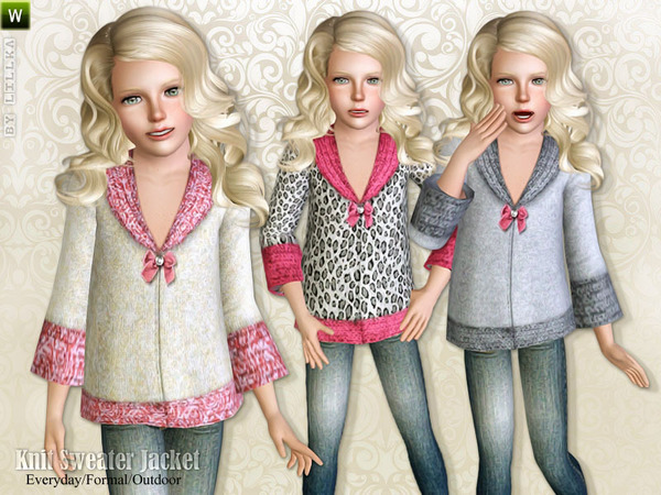Knit Sweater Jacket by lillka