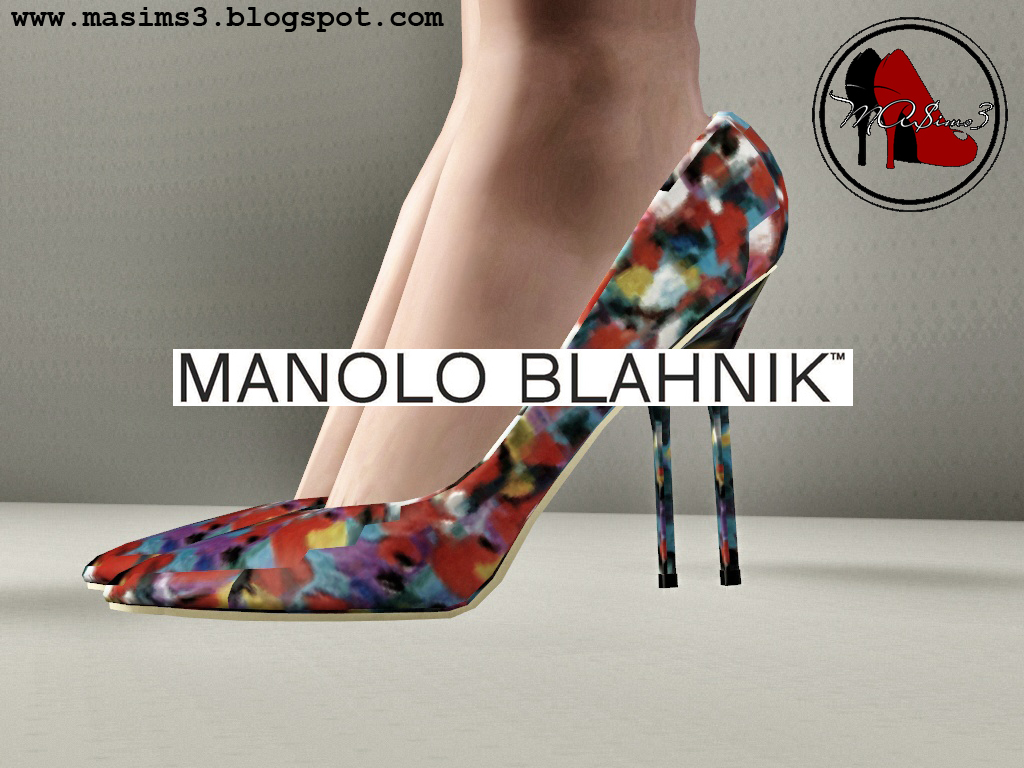 Manolo Blahnik 2014 Cruise Collection Pumps by MrAntonieddu