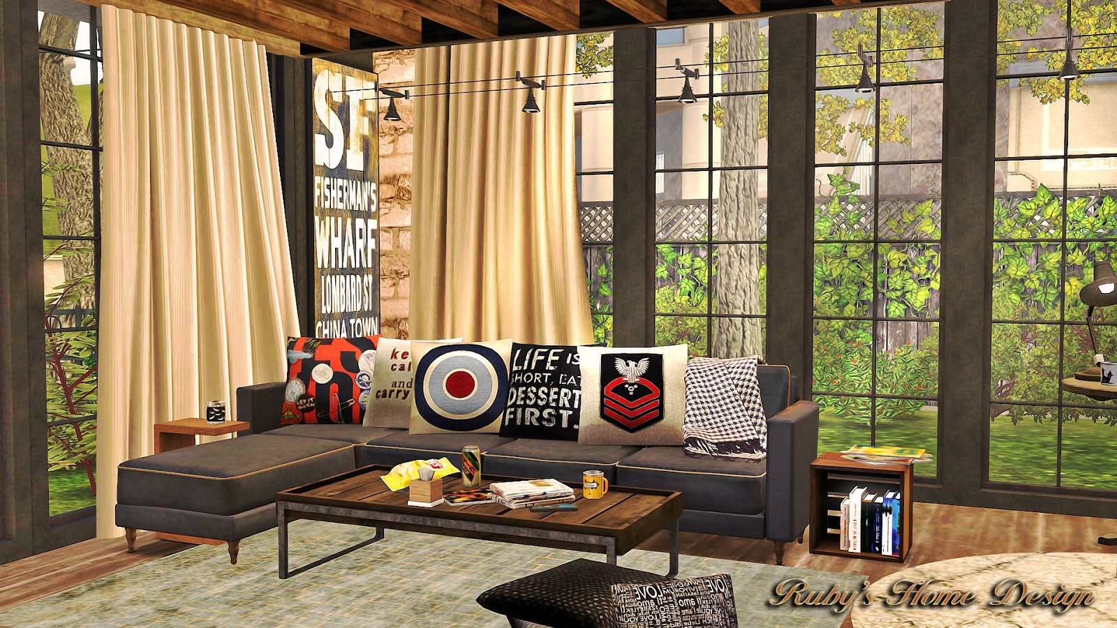 Industrial Chic Lot by Ruby Red