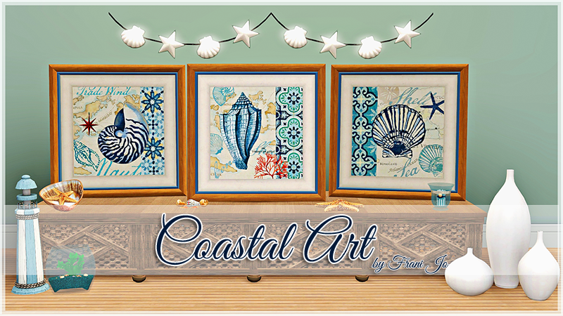 Coastal Art by Frani Jo