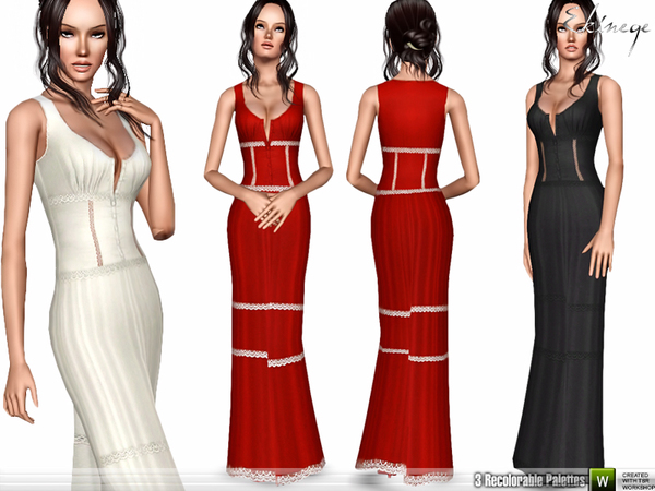 Sleeveless Maxi Dress by ekinege