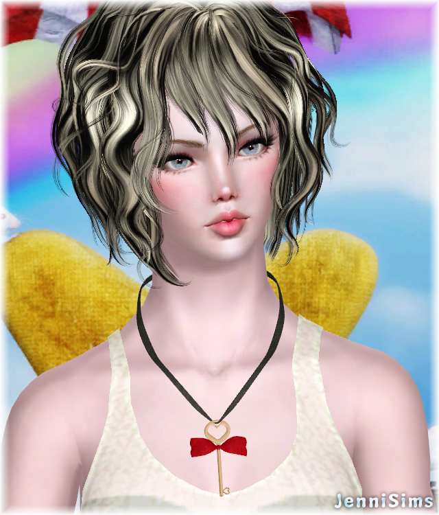 Accessory Necklace recolorable Base Game compatible by Jennisims