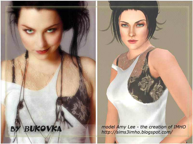 Top shirt Lace of_Amy Lee by bukovka