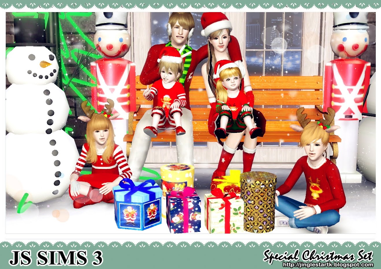 Sims 4 Christmas Poses.Merry Christmas Special Christmas Set For You By Js Sims 3