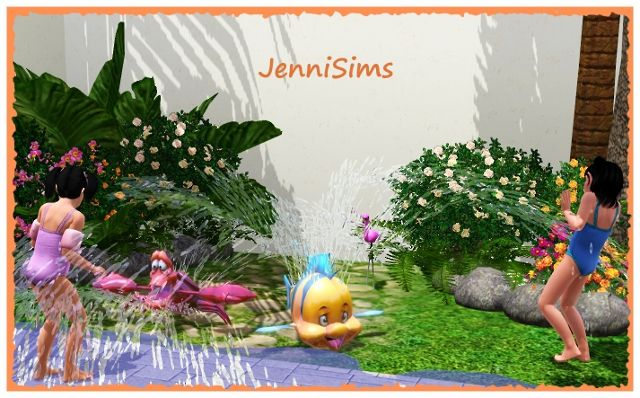 Aspersores The Little Mermaid by Jenni