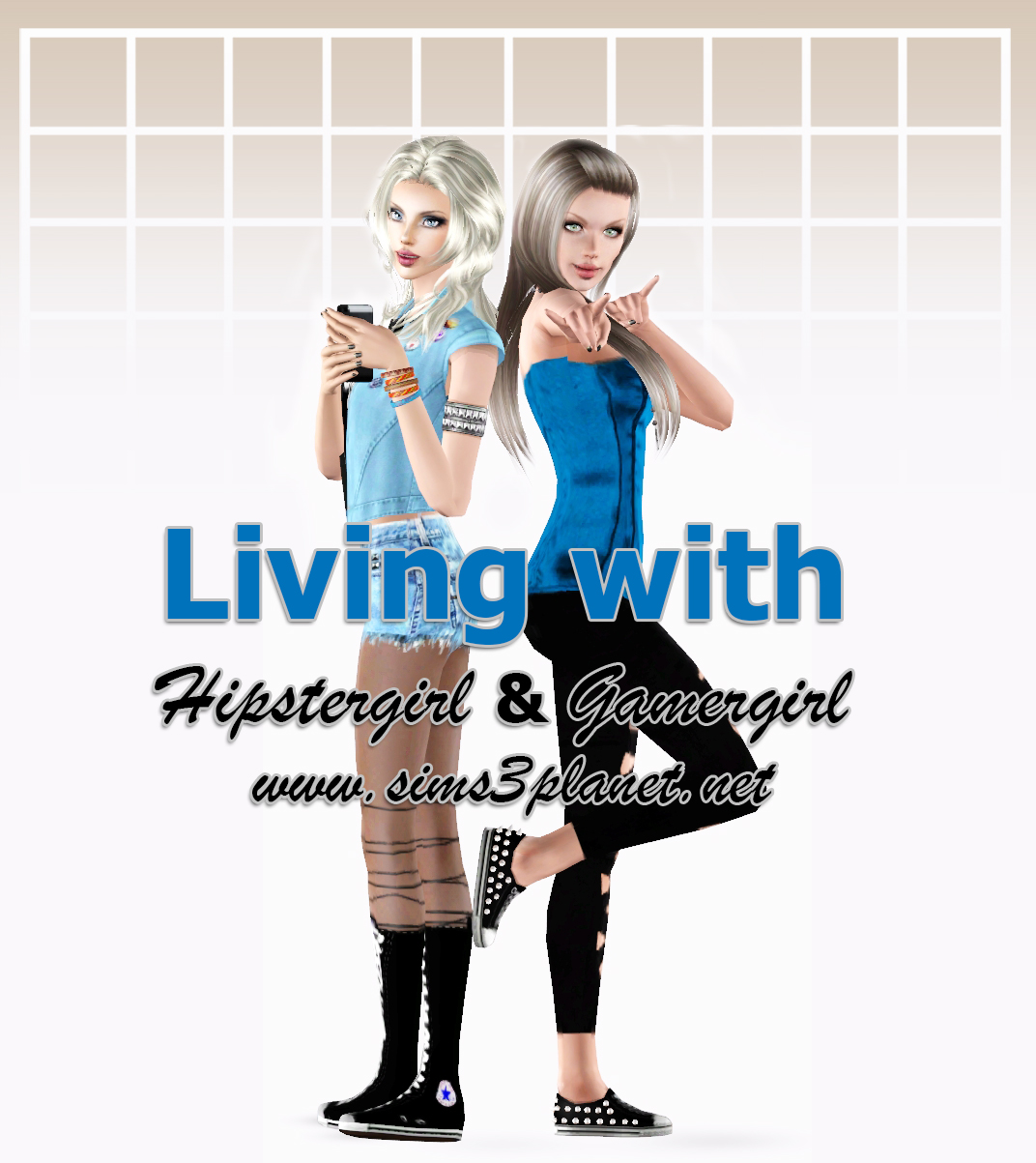Living with HipsterGirl and GamerGirl (5 часть)
