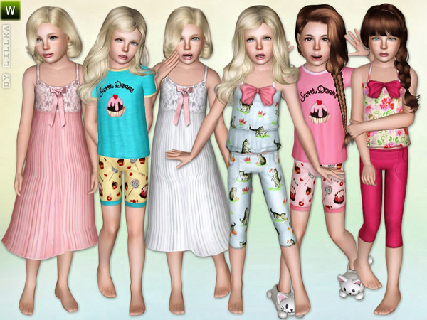 Girls Sleepwear - Set by lillka