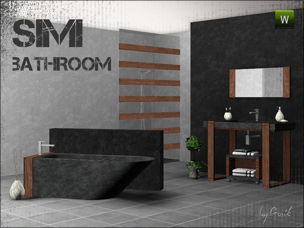 Simi bathroom by Gosik