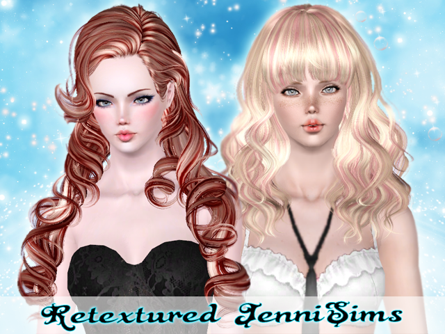 Peggy hair and Newsea Skyscraper retextured by Jennisims