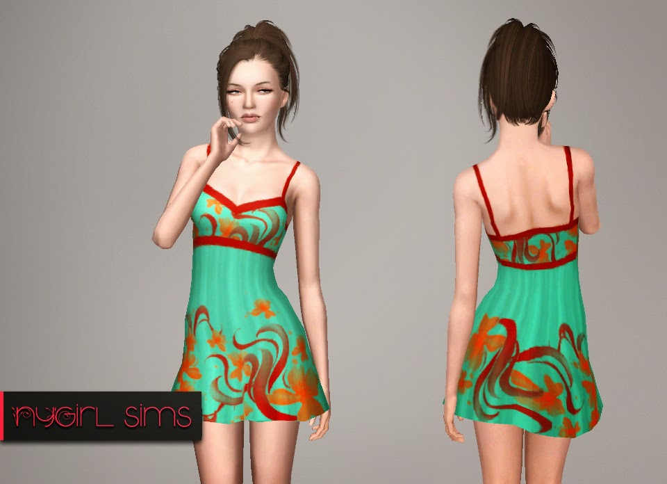 Floral Printed Sundress by NYGirl