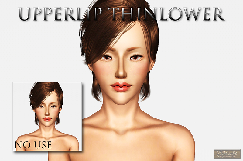Upperlip ThinLower by YS3Studio