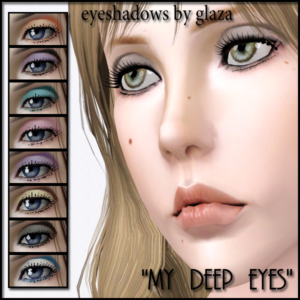 eyeshadows my deep eyes by glaza