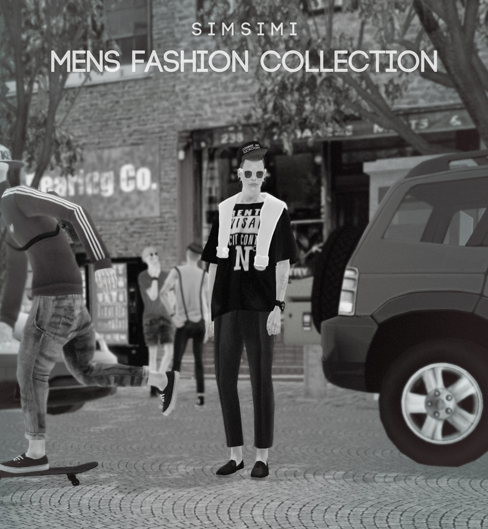 Men's Fashion Collection by Simsimi