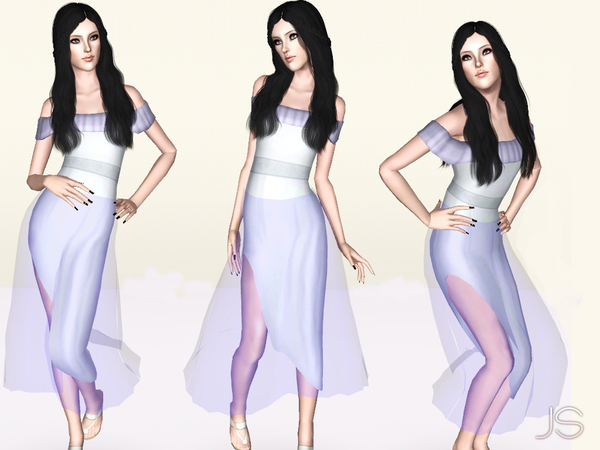 Fantasy Lives Transparency Gown by JavaSims
