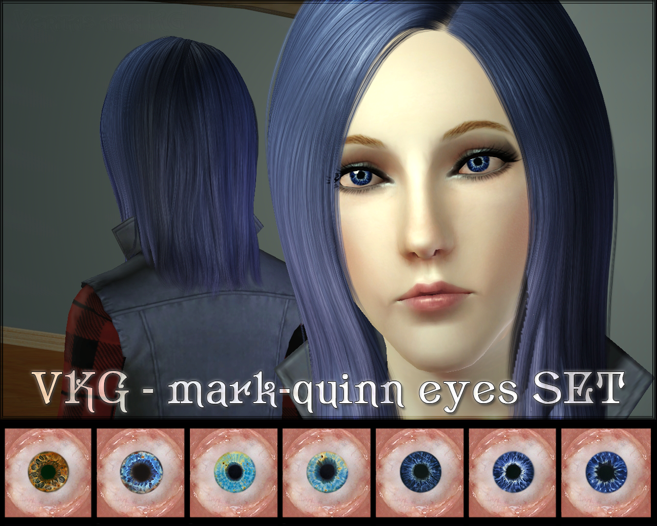 VKG - Mark-Quinn Eyes Set by Veritas
