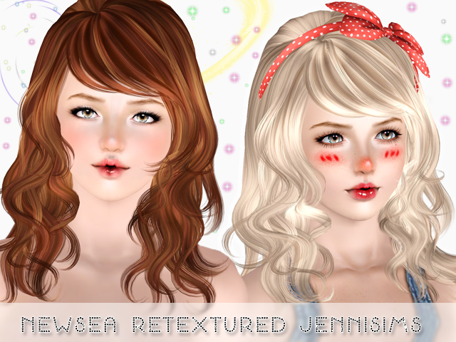 Newsea Hair Eyes On Me retextured all ages by Jenni