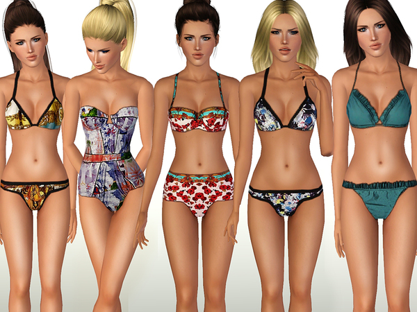 Swimwear SET 02 by ShakeProductions