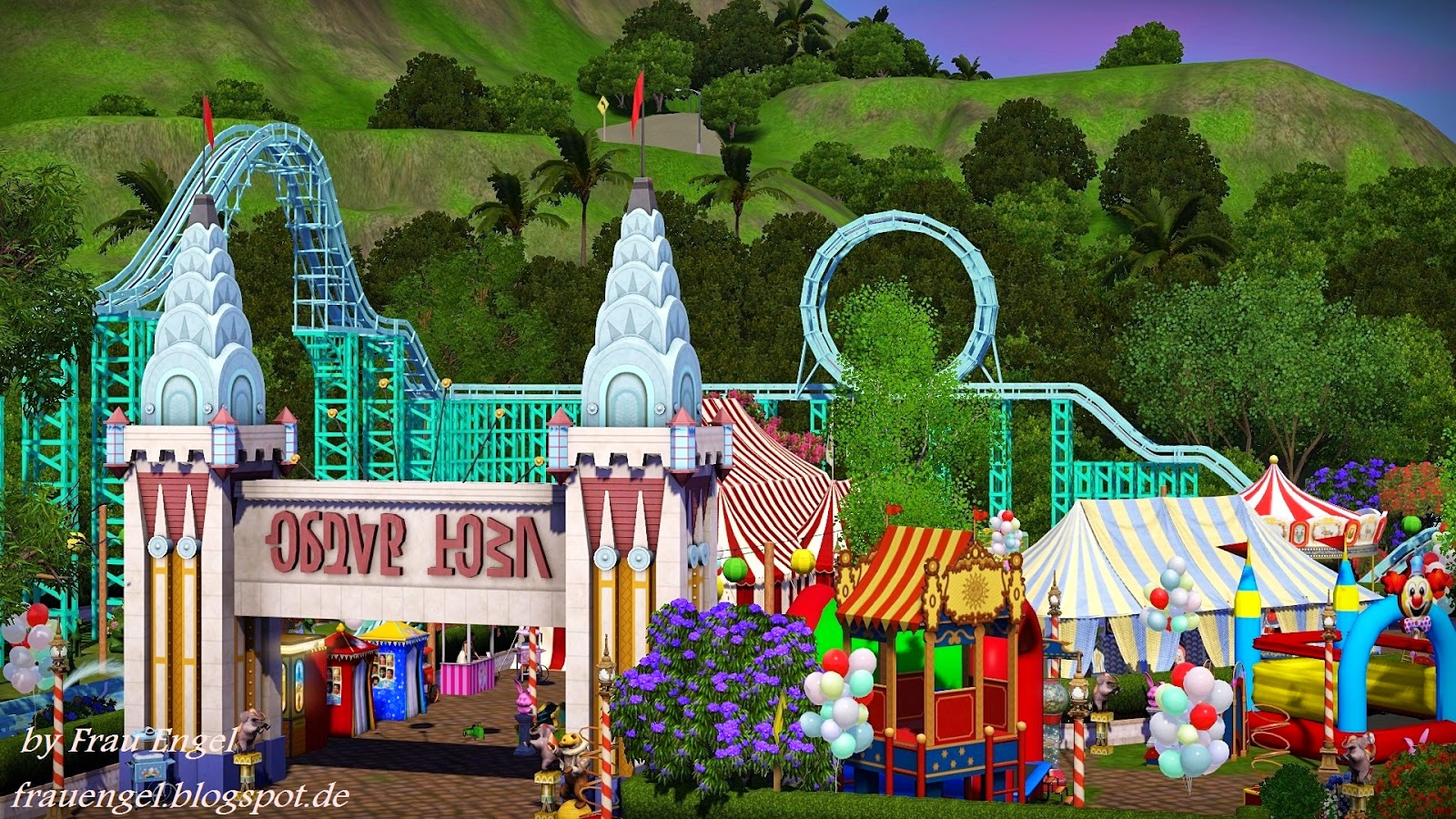 Amusement Park Circus by Frau Engel