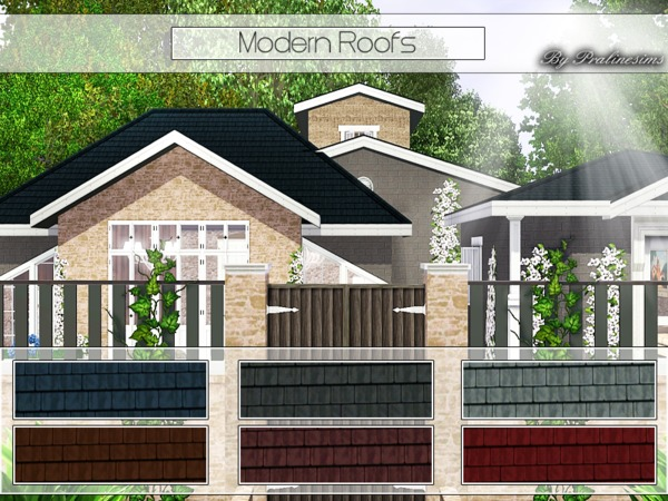 Modern Roofs by Pralinesims