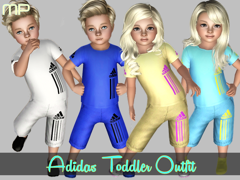 Adidas Toddler Set by MartyP