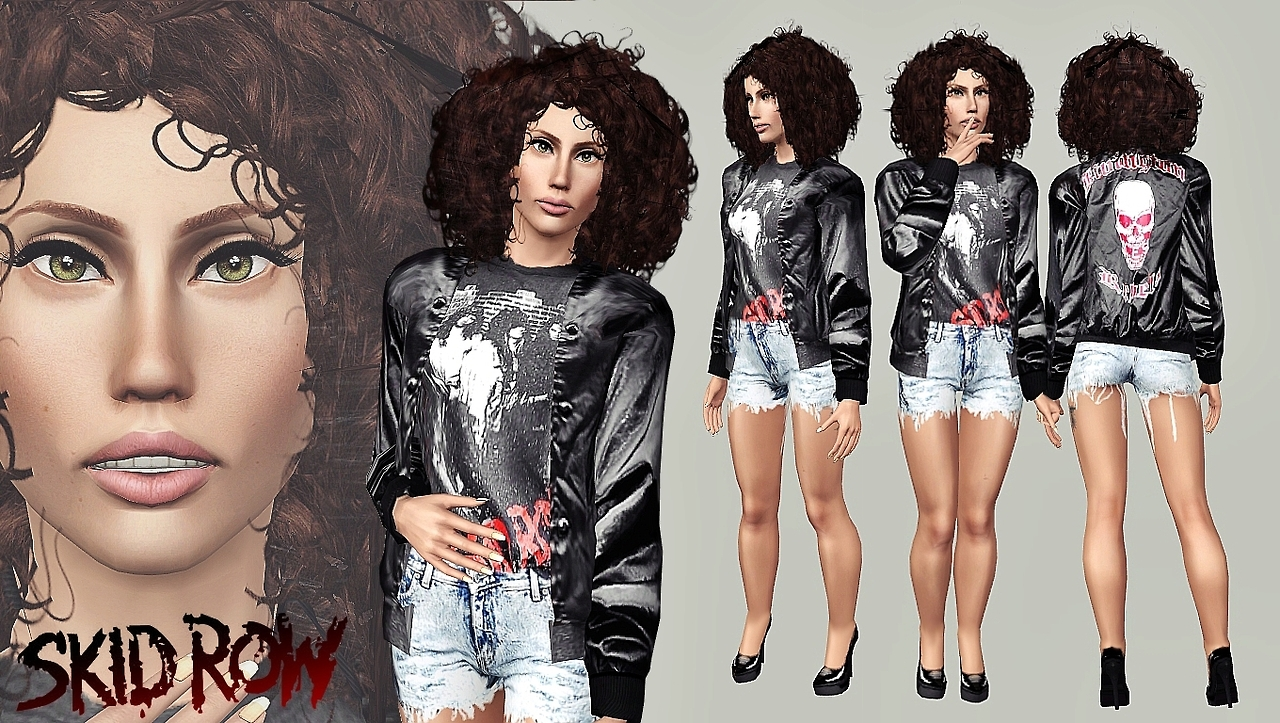 80s Skid Row Bomber Outfit by Artsims