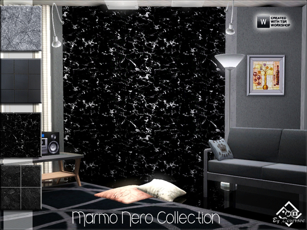 Marmo Nero Collection by Devirose