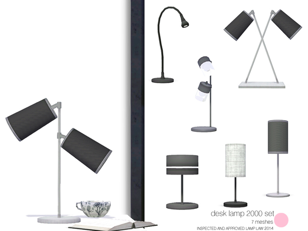 Desk Lamp 2000 Set by DOT