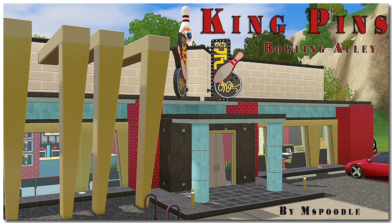 King Pins Bowling Alley by Mspoodle1