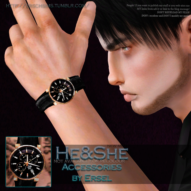 HeShe Accessories by Ersel