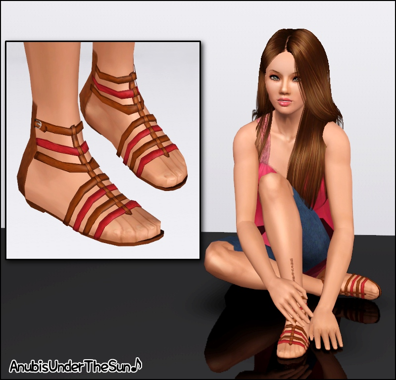 Athena Sandals by Anubis360