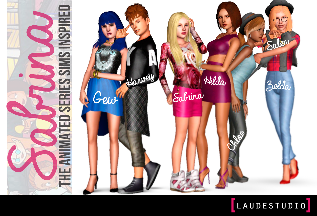 Sabrina Inspired Sims by LaudeStudio