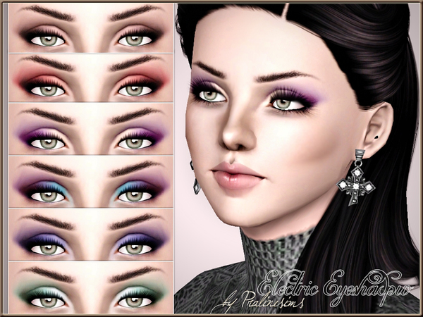 Electric Eyeshadow by Pralinesims