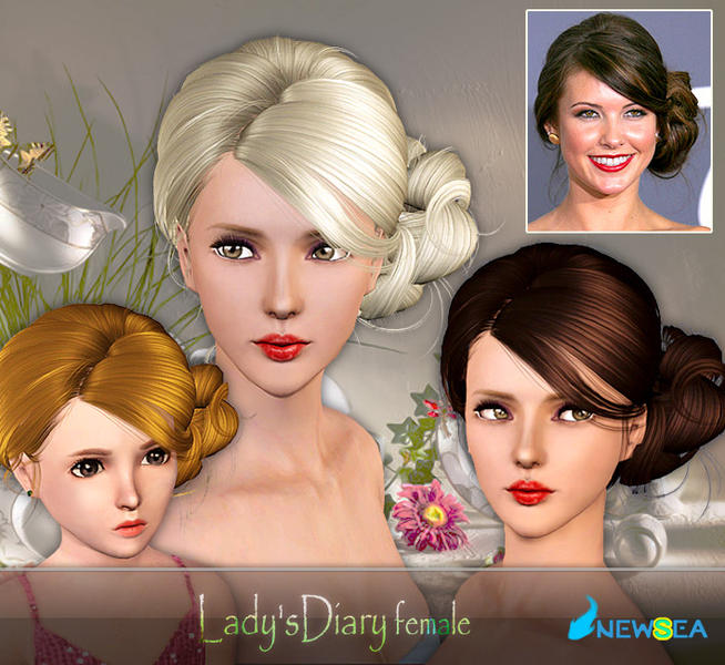 Newsea Ladys Diary Female Hairstyle