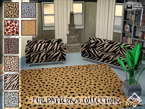 Fur Patterns Collection by Devirose