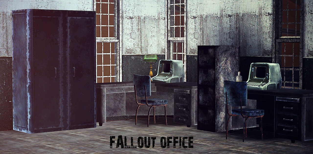 Fallout Office Conversions by Brialimmortelle