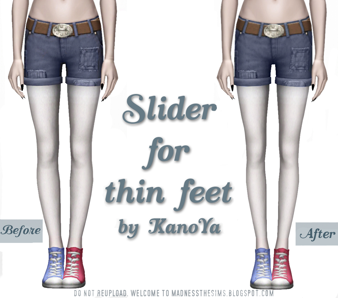 Slider For Thin Feet by KanoYa