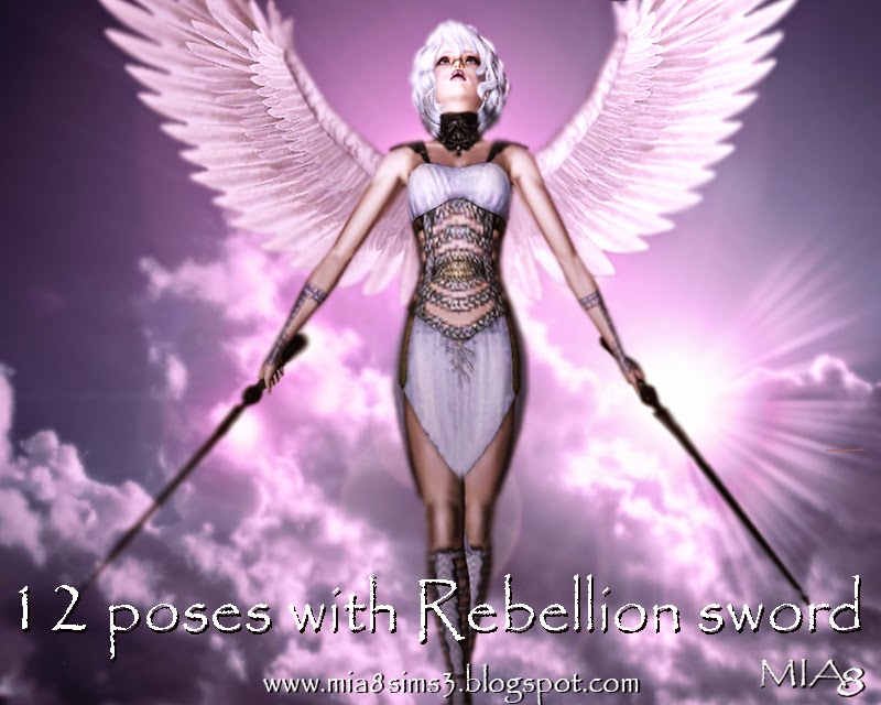 12 Poses with Rebellion Sword by Mia8