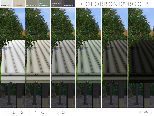 Colorbond Roofs by peskimus