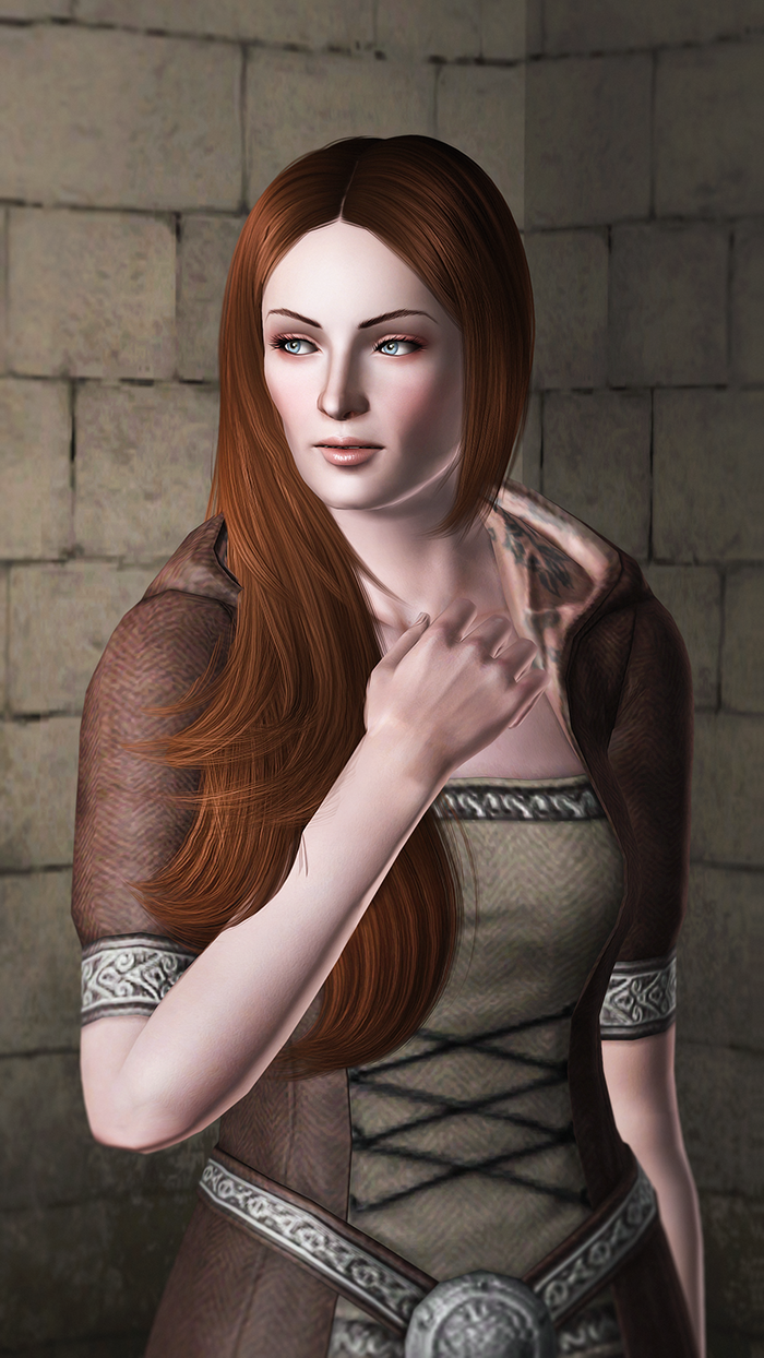 Sansa Stark / Game of Thrones by Kurasoberina