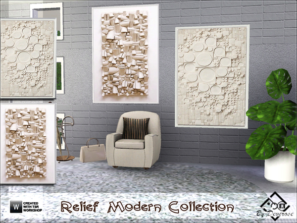 Relief Modern Collection by Devirose