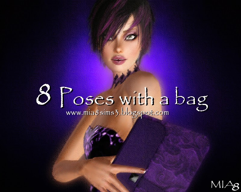 8 Poses with a bag by Mia8