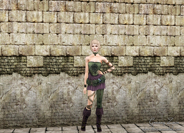 Big Medieval Mix Walls by Granny Zaza