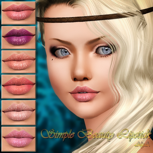 Simple Beauty Lipstick by AlgA
