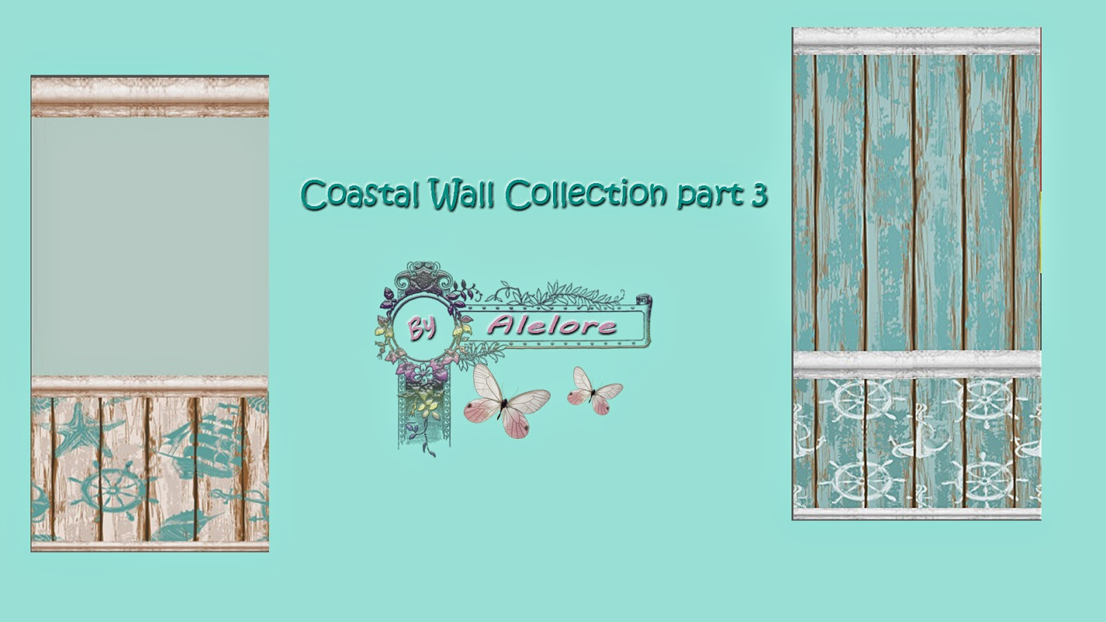 Coastal Wall Collection Pt. 3 by Alelore