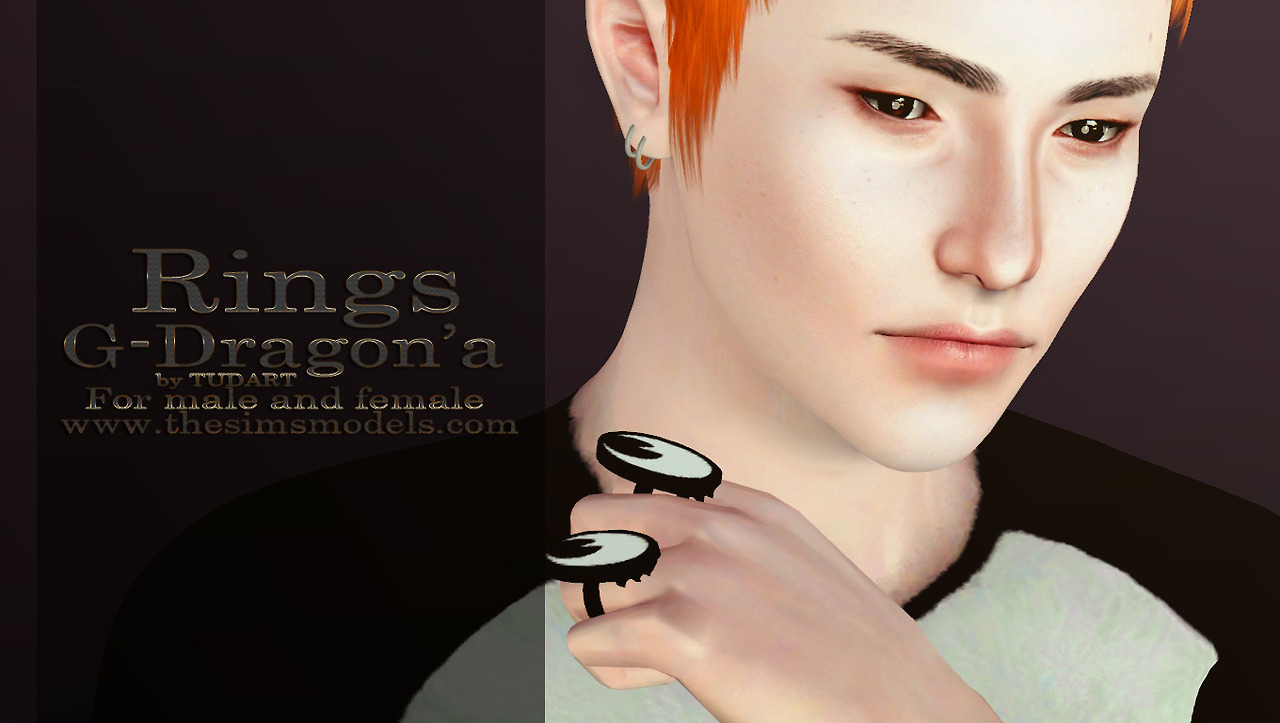 Rings G-Dragon'a by TUDART