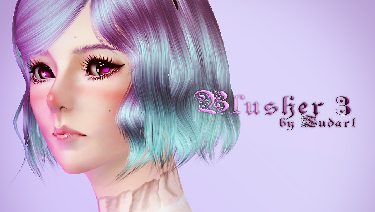 Blusher 3 by TUDART